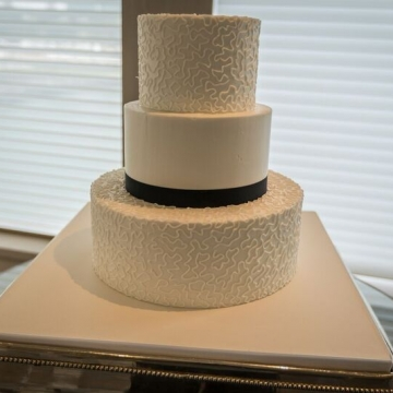 Yacht Wedding Cake