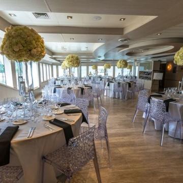 Yacht Wedding Reception
