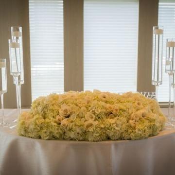 Yacht Wedding Sweetheart Table