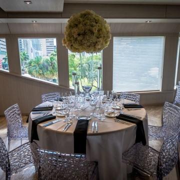 Yacht Wedding Tablescape