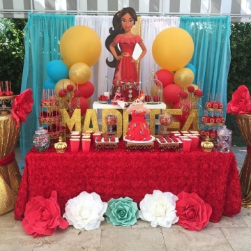 Elena of Avalor Sweets Table