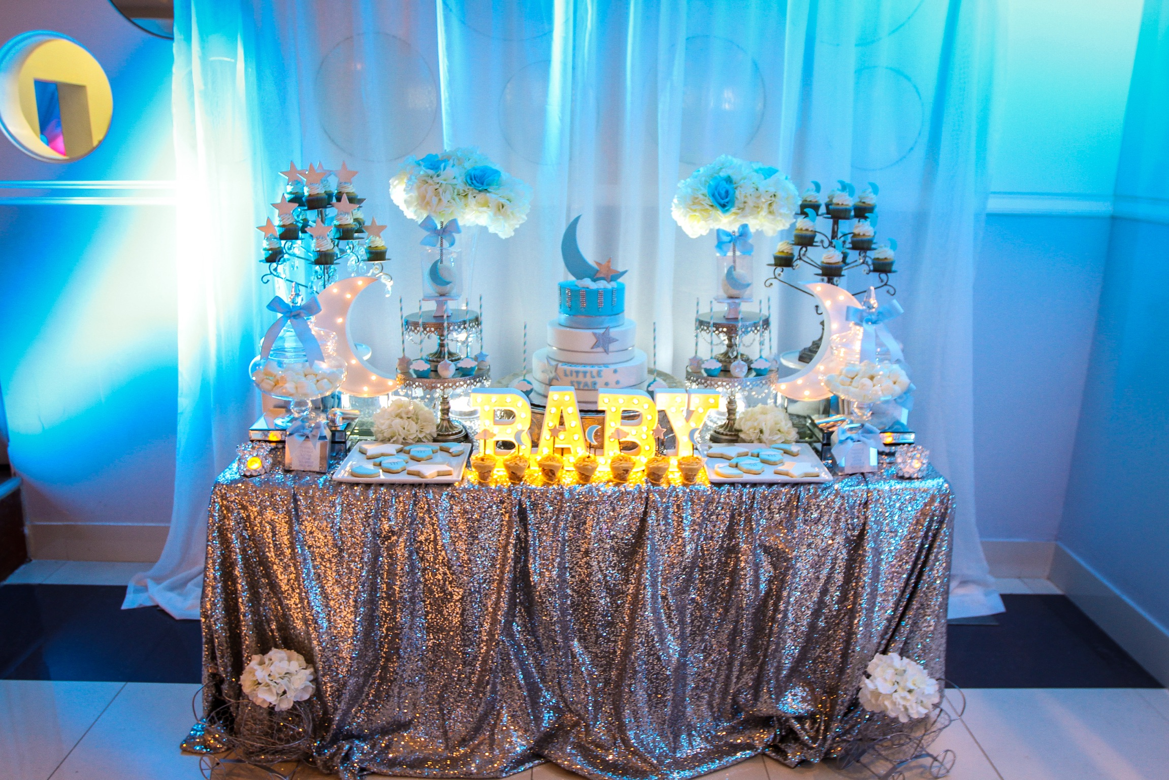 Baby Shower Candy Display